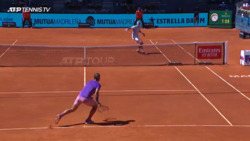 Hot Shot: Nadal's Improvisation vs. Popyrin