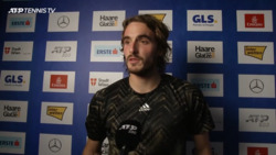 Tsitsipas On Dimitrov Win: 'The Level Of Tennis Was Really High'