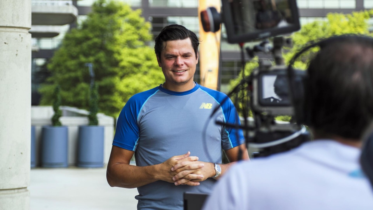 Tournament Tour: Inside Atlanta With Raonic, Anderson & Isner