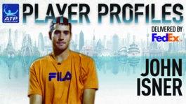 Isner FedEx ATP Player Profile 2017
