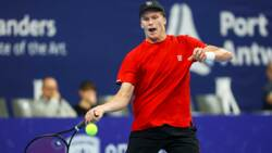 Hot Shot: Brooksby Cleans The Line With Forehand In Antwerp 2021