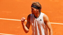 Hot Shot: Zverev Lets Out A Roar After This Forehand Rocket