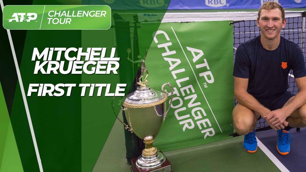 Krueger Claims Maiden Challenger Title In Dallas