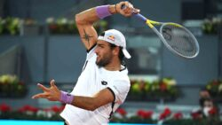 Hot Shot: Berrettini Breaks Ruud With Monster Forehands