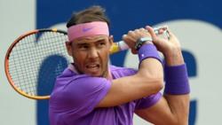 Hot Shot: Off Balance, Nadal Adjusts For 'Flick Of The Wrist' Winner