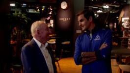 Laver, Federer & Sus Recuerdos Durante La Laver Cup