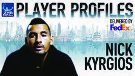 Kyrgios FedEx ATP Player Profile 2017