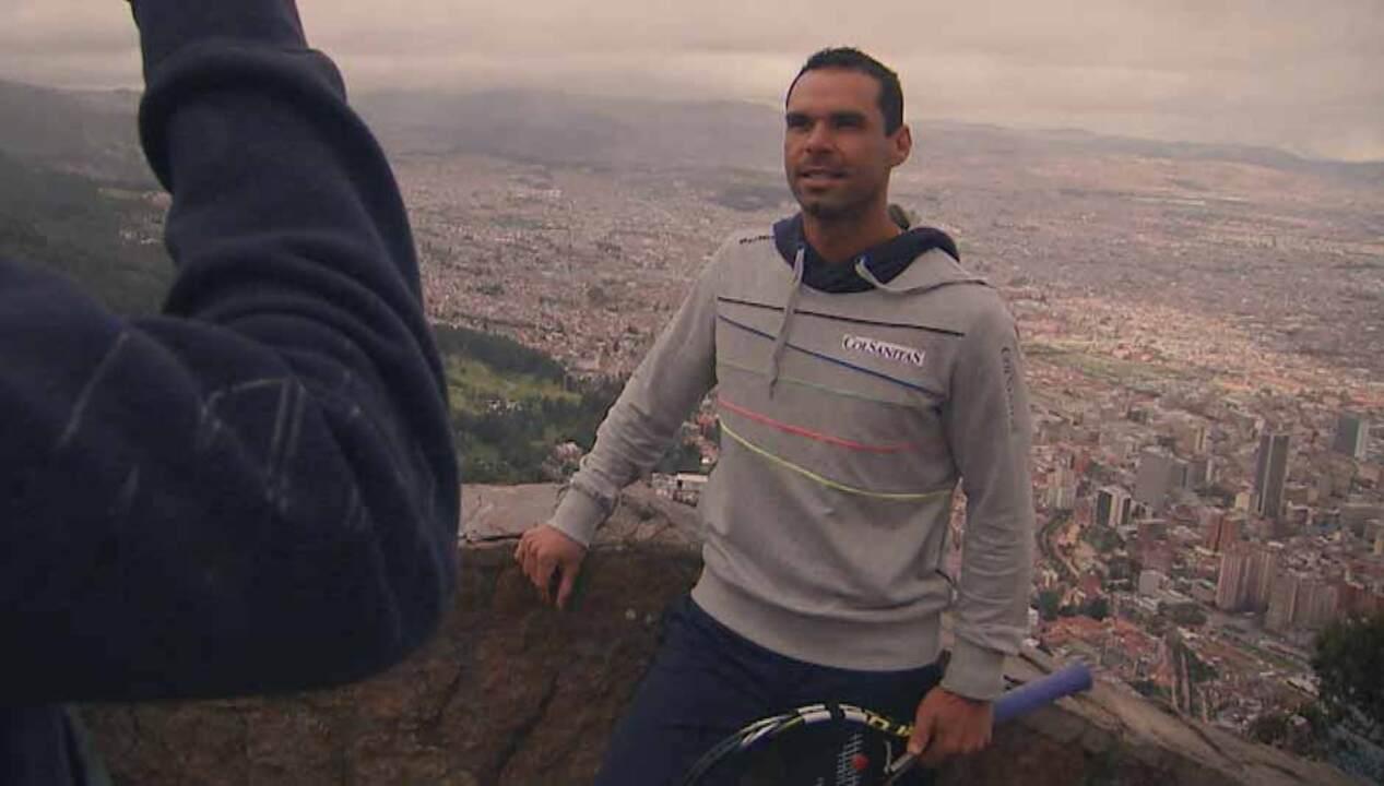 ATP World Tour Uncovered Bogota Scene Set