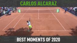 Carlos Alcaraz: Sus Mejores Momentos De 2020