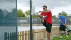 Watch Marin Cilic's Physical Warmup In Stuttgart