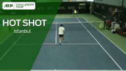First Hot Shots Of 2021: Istomin's Istanbul Tweener