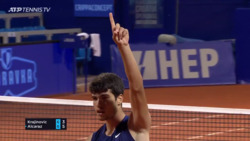 'It's In! My Goodness!' How Did Alcaraz Make This Shot In Umag?