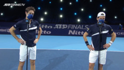 Melzer/Roger-Vasselin Discuss Comeback Win Against Peers/Venus