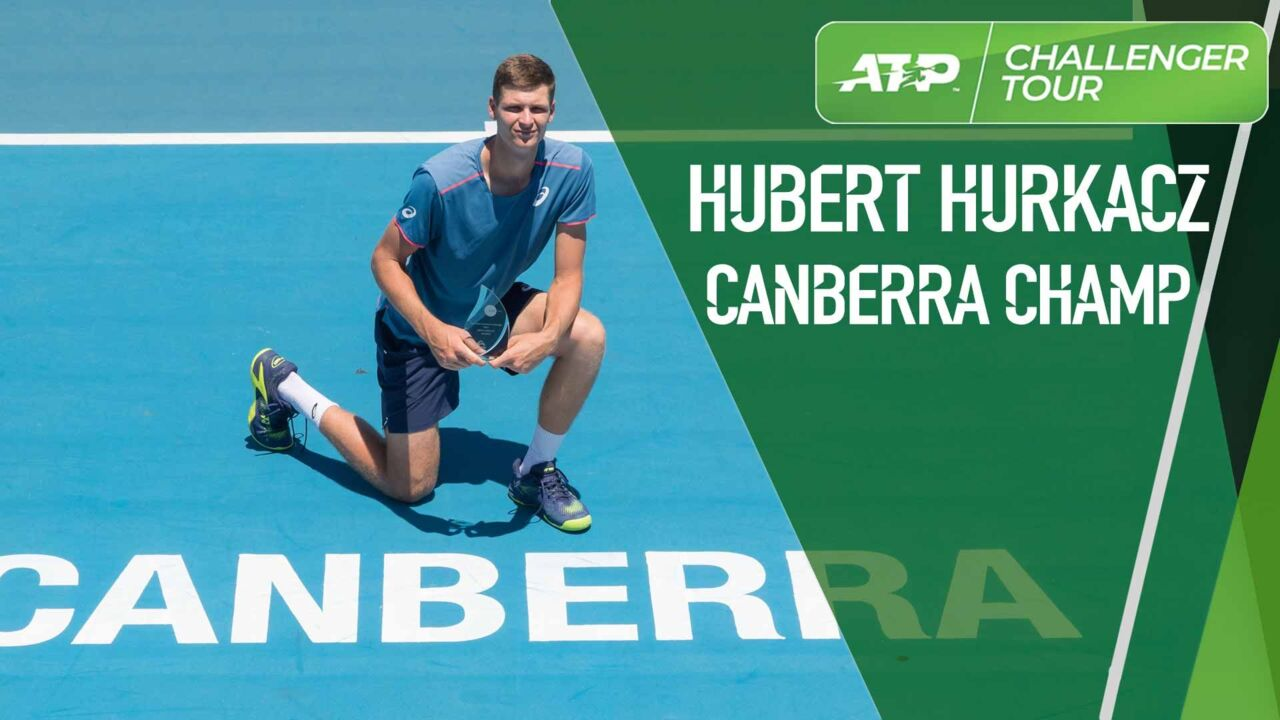 Hurkacz Captures Canberra Challenger Crown