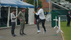 Sonego Limbers Up In This Physical Eastbourne Warmup