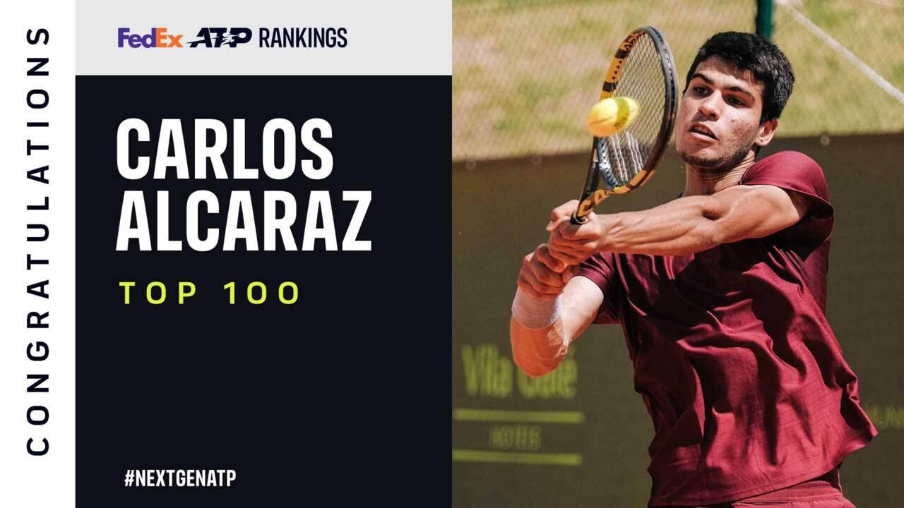 Carlos Alcaraz Debuta En El Top-100