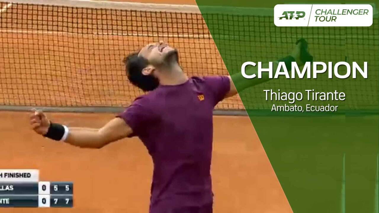 Thiago Tirante Celebrates Maiden Challenger Title In Ambato