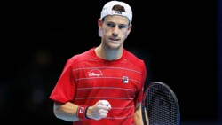 Hot Shot: Schwartzman Fires 'Bullet' Forehand On The Run