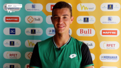 Interview: 19-Year-Old Gimeno Valero Discusses Maiden Challenger Title