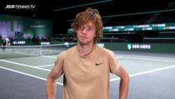 """Rublev Sobre Su Actuación En Los ATP 500: """"Es Genial"""""""