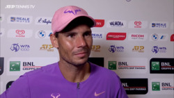 Nadal Reflects On 'Very Difficult' Shapovalov Encounter