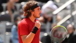 Hot Shot: Tsitsipas' Perfect Placement
