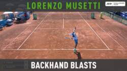 Musetti Backhand Blasts Vs. Tiafoe At Forli Challenger