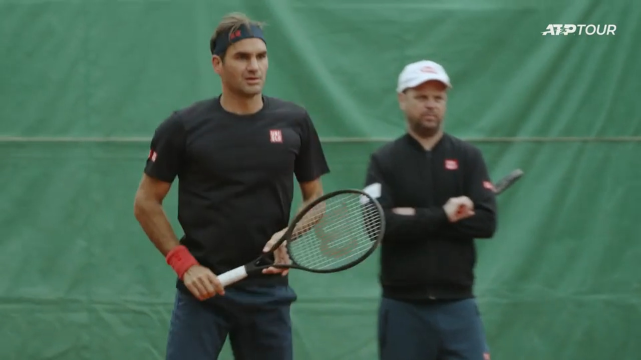 Así Se Prepara Roger Federer En Ginebra