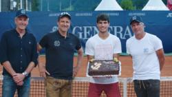 Kitzbuhel Congratulates Alcaraz On First ATP Tour Title