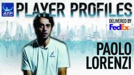 Lorenzi FedEx ATP Player Profile 2017