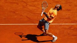 Master Of Monte-Carlo: Rafael Nadal's Best Hot Shots