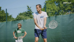 Watch Medvedev Work On His Backhands In Halle