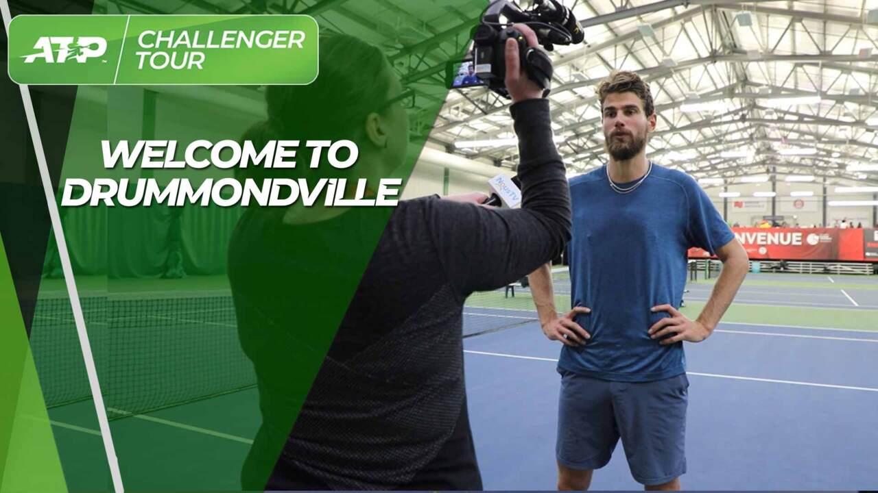 Drummondville: Where Snow Meets Tennis