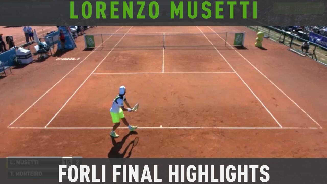 Final Highlights: Musetti Claims Maiden Challenger Title In Forli