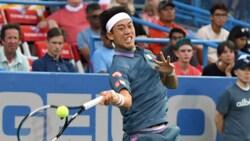 Hot Shot: Nishikori Brings Out The Backhand Skyhook In Washington