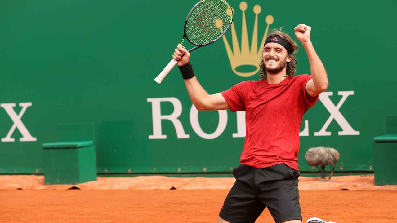 Highlights: Tsitsipas Beats Rublev For Monte-Carlo 2021 Title