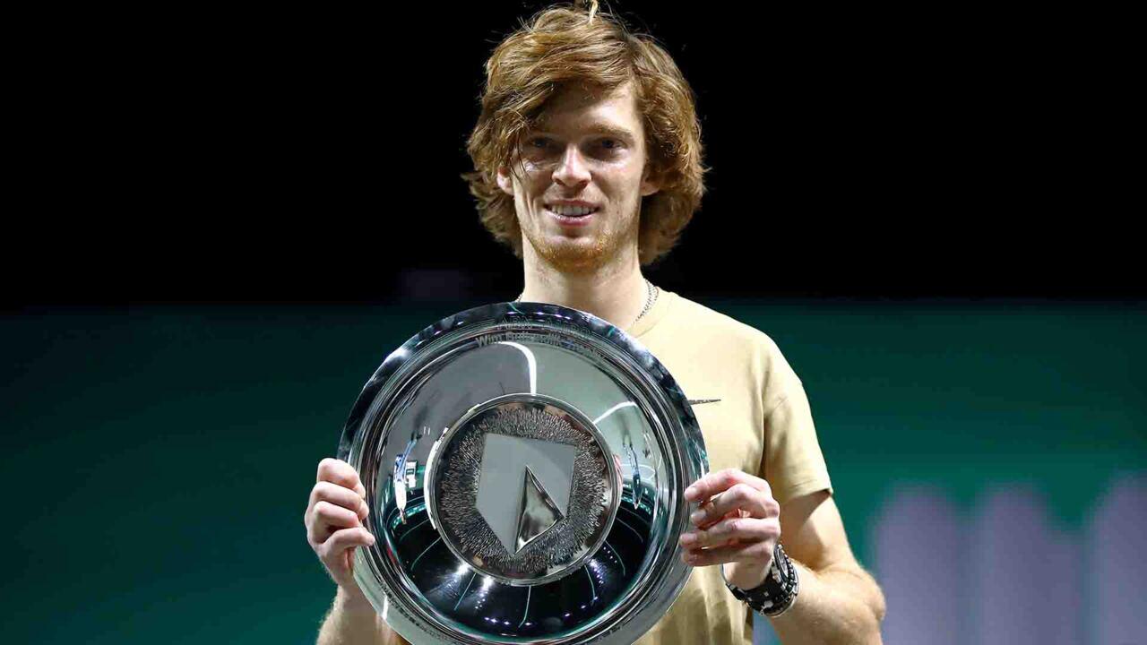 Highlights: Rublev Extends ATP 500 Run, Wins Rotterdam Title