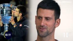 'C'mon, C'mon, C'mon!' Djokovic Tests His Memory