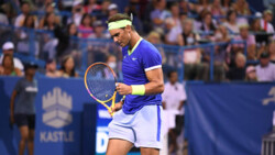 Hot Shot: Nadal Hits Skyhook 'From Another Planet' In Washington!