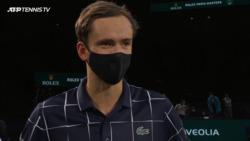 Medvedev 'Super Happy' After Paris Title Run