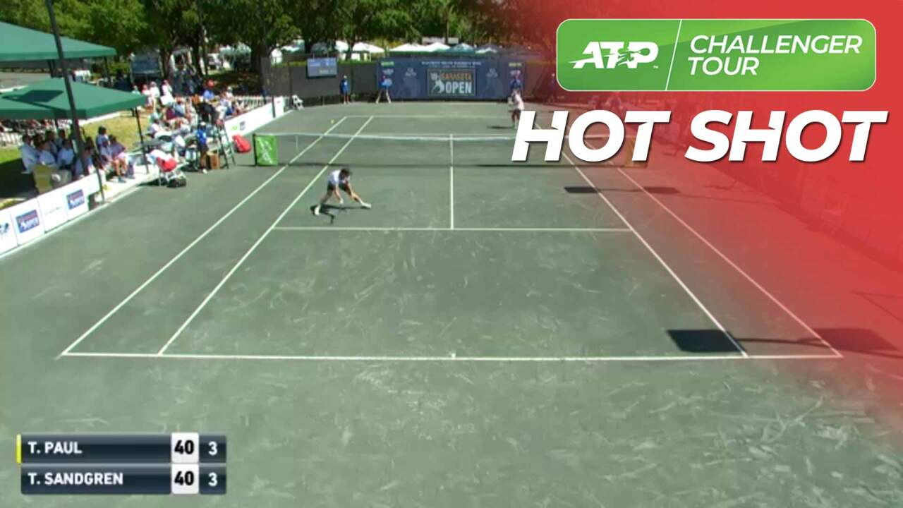 Hot Shot: Paul Slips And Still Wins The Point In Sarasota Final