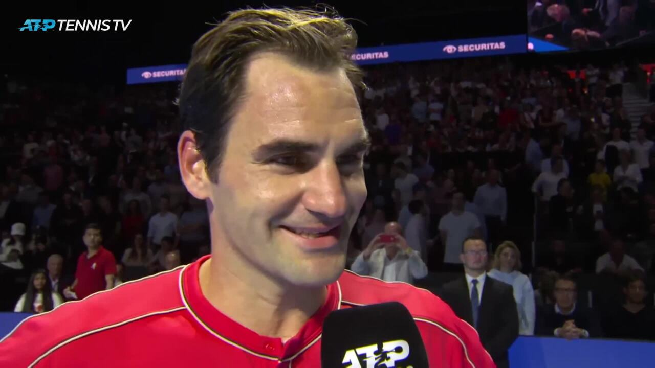Federer On 10th Basel Title: 'Couldn't Be More Happy'