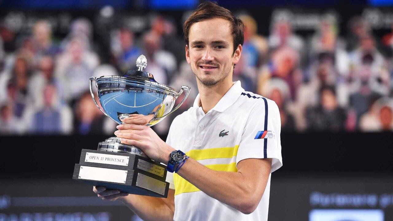 Highlights: Medvedev Captura Su 10º Título ATP Tour En Marsella
