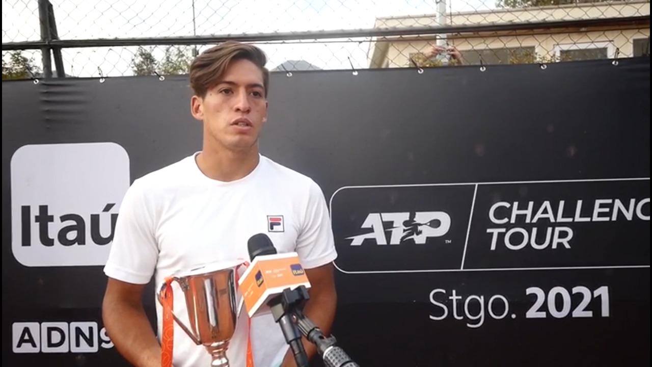 Sebastian Baez Reflects On Emotional Victory At Santiago Challenger