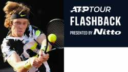 ATP Tour Flashback Presented By Nitto: Andrey Rublev Court Coverage