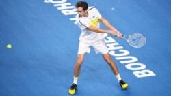 Hot Shot: Medvedev Hits The Target To Claim Opening Set