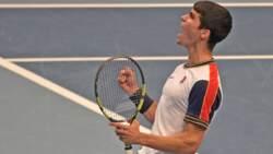 Hot Shot: Alcaraz Pulverises Forehand Against Murray