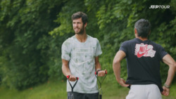 Khachanov Works Up A Sweat In Physical Halle Warmup