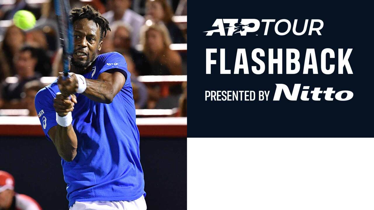 ATP Tour Flashback Presented by Nitto: Monfils Never Say Die