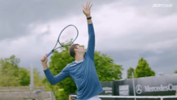 You Shall Not Pass! Hurkacz Works On Volleys & Smashes In Stuttgart
